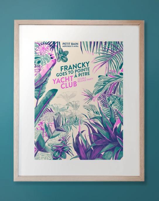 Affiche encadrée jungle release